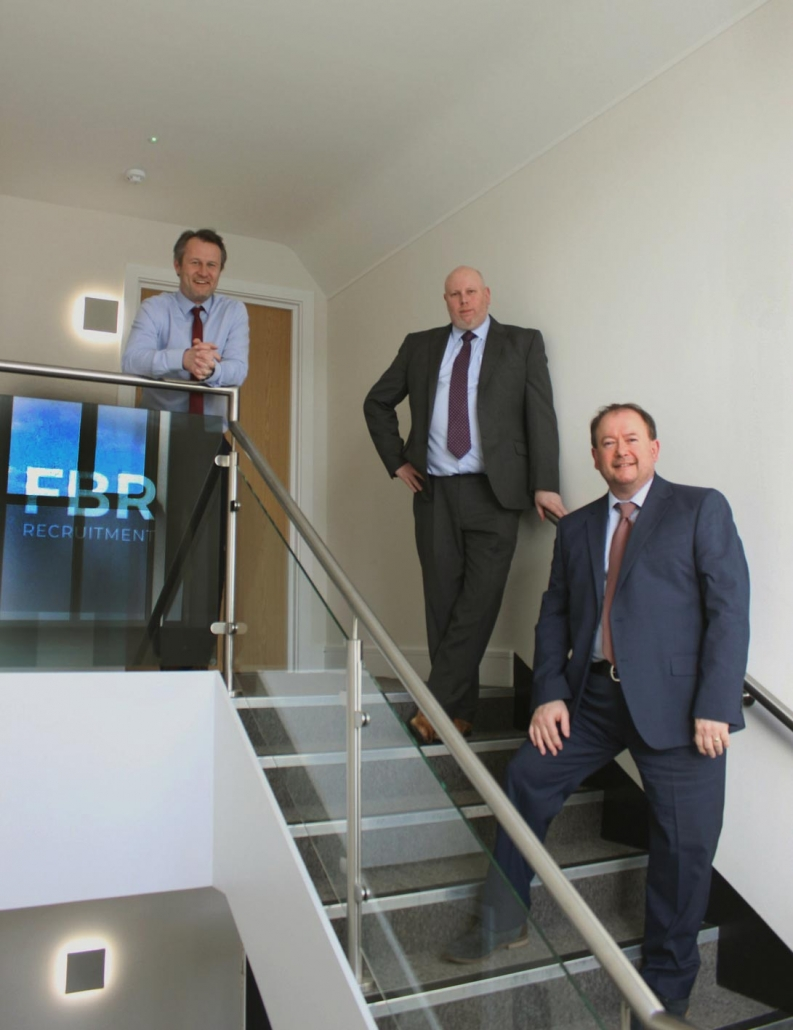 Tom, Mark and Richard at FBR new offices